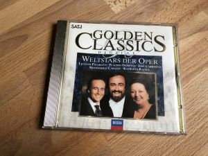 CD original 24 karat  GOLDEN CLASSIC