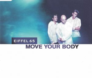 CD original  Eiffel 65 ‎– Move Your Body