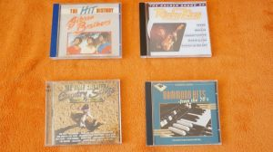 Cd original Gibson Brothers, Ricky King, Hammond Hits 70, Country bes