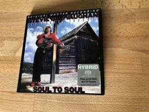 CD original master recording SACD- HYBRID Stevie Ray Vaughan