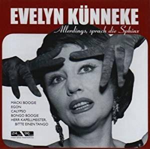 CD original sigilat Allerdings,Sprach die Sphinx Kunneke,Evelyn