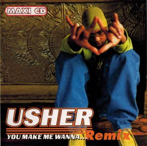 CD original Usher ‎– You Make Me Wanna... (Remix)