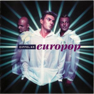 CD original Various ‎– Eiffel 65 ‎– Europop