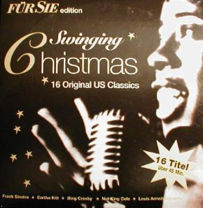 CD original Various ‎– Swinging Christmas