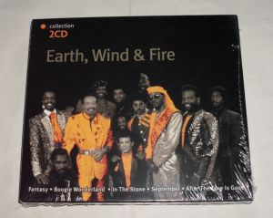 Cd sigilat EARTH,WIND&FIRE-The collection