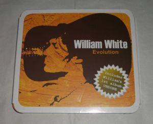 Cd sigilat WILLIAM WHITE-Evolution