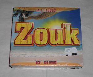 Cd sigilat ZOUK-Dancefloor Multitubes
