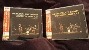 CD - The Modern Jazz Quartet – Concert In Japan Vol.1 & Vol.2