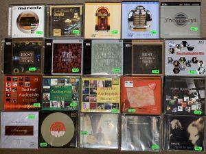 CD-uri AUDIOPHILE de TEST - XRCD - SACD - GOLD CD