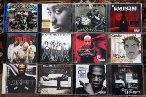 Colectie CD RAP, EMINEM, SNOOP DOGG, DRU HILL, COOLIO