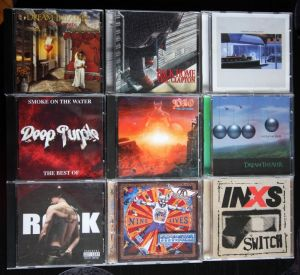 Colectie rock, metal DREAM THEATER, SEPULTURA...