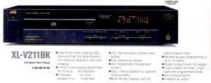 Compact Disc Player JVC XL-V211
