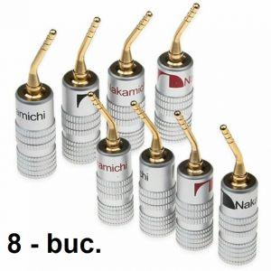 Conectori Nakamichi tip Pin 2 mm - la set de 8 buc
