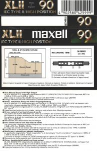 Cumpăr J-carduri Maxell XL II 90
