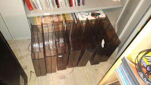 cutii plexic Ex Libris pentru pastrare discuri de vinil