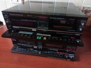 Deckuri Aiwa cu 5+1 casete,modele A70 si FX A120