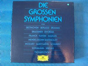 =Die GROSSEN Symphonien=Deutsche Gramophon-RAR
