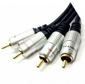 DIGITAL Audio Cable 24k Gold OFC