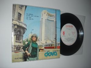 DOVA: Los Gitanos, etc.(1972)(vinil disc mic Electrecord, cu 4 piese)