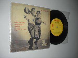 DUO NANOS (1966)(disc mic Electrecord cu 4 piese muzica greceasca, stare VG+)