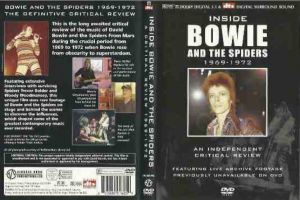 Dvd David  Bowie‎*Inside Bowie And The Spiders