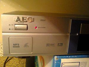 DVD player AEG 2002 - home player