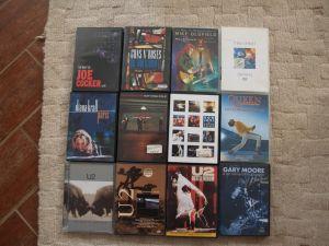 DVD rock / jazz Diana Krall,Queen,U2..