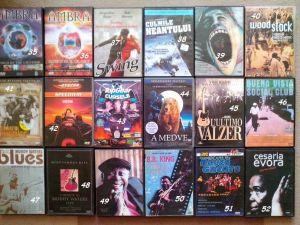 DVD/CD -uri muzica (jazz-blues-rock vechi+...)