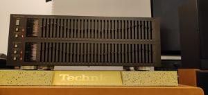 Egalizator Technics SH-8065 profesional 2x33 benzi, negru, poze reale