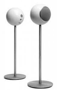 Elipson Planet L Spherical Speakers with Stands