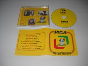 Focus: Live At The BBC(1976) CD, Limited Edition, Remastered, ca nou