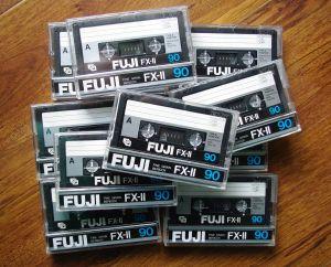 FUJI FX-II 90 casete audio RAR!