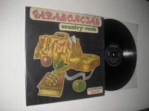 GARABONCIAS : Country Rock (1982) vinil folk rock maghiar de calitate, stare VG+