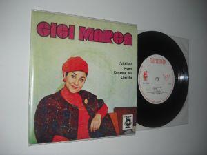 Gigi Marga: L'Altalena / Mama / Canzone Blù / Cherche (1969)(disc mic)