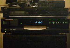 harman kardon hd750, cd-player de top cu PCM1732U