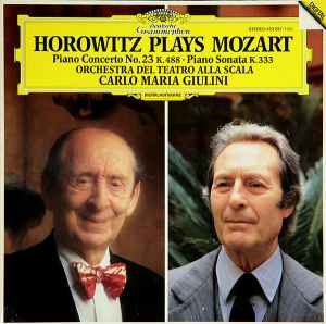 Horowitz Plays Mozart - Piano Concerto No. 23 K. 488 + Sonata K 333