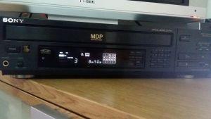 LaserDisc Sony mdp-315