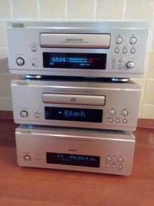 Linie mini Denon F88,deck autorevers,tuner si CD