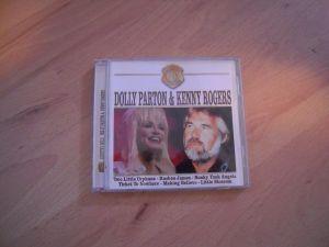 LOT DE 2 CD-uri originale Dolly Parton & Kenny Rogers - Country Gold / Anastasia