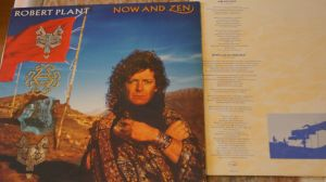 Lp album disc vinil Robert Plant ‎– Now And Zen
