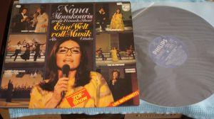 LP album Nana Mouskouri – Eine Welt Voll Musik