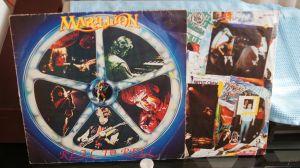 LP vinil album Marillion – Real To Reel