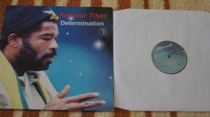 LP vinyl album Admiral Tibet – Determination RMLP-04 2002 Jamaica