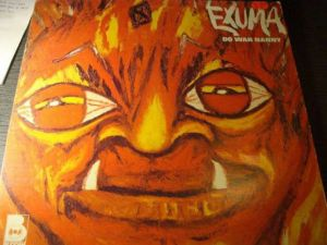 "LP vinyl album EXUMA 'Do Wah Nanny""Rar Colectibil"