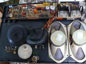 Magnetofon Grundig HI-FI TK547(piese)