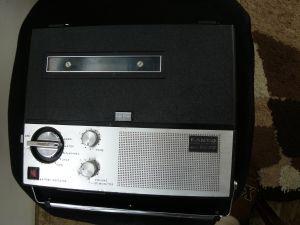 Magnetofon  Portabil Sanyo Mr210 Vintage