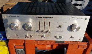 Marantz model 1090, amplificator vintage argintiu
