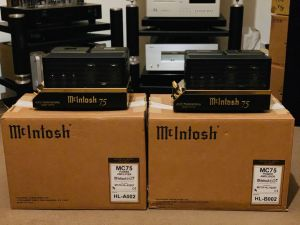 McIntosh MC75 60th Anniversary Gold Limited Edition