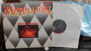 "Mini album vinil 12"" Marillion – Brief Encounter"