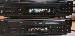 Minidisc Sony MXD-D3 / Sony MDS-W1